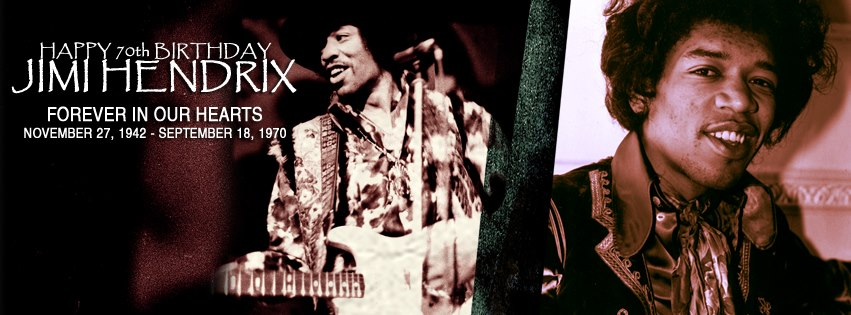 Jimi Hendrix 70