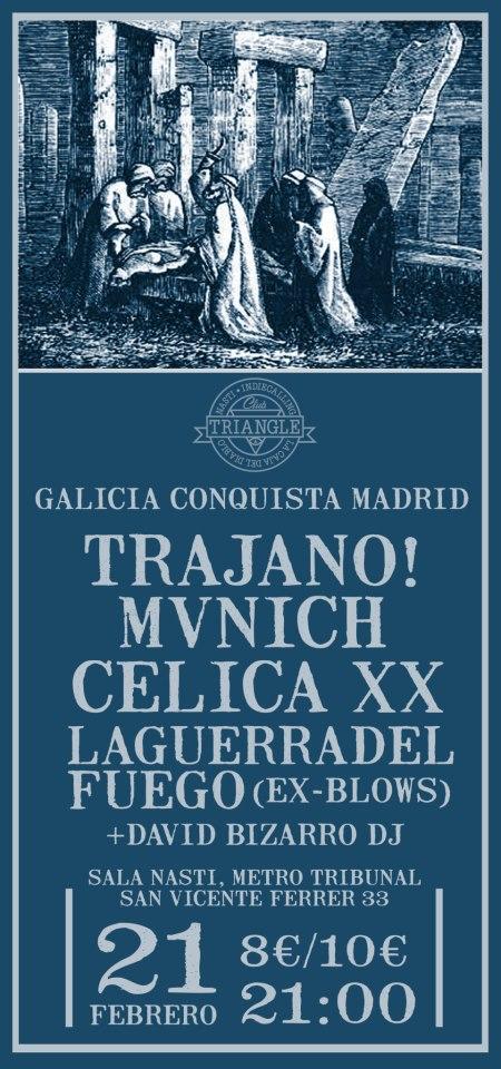 Galicia Conquista Madrid