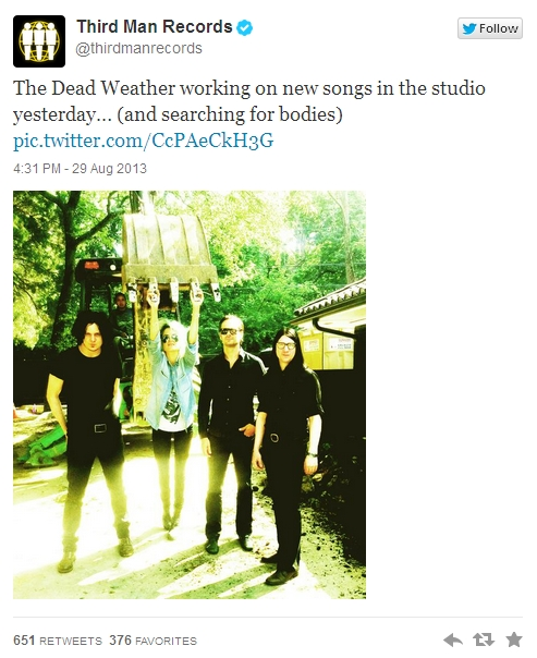 Third Man Records The Dead Weather
