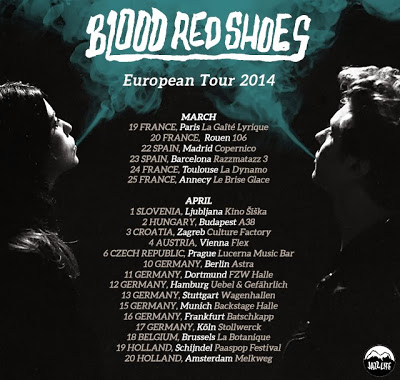 Blood Red Shoes Tour 2013