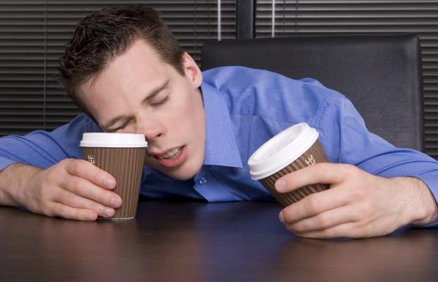Man-Asleep-at-Desk