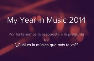 mi año 2014 en musica