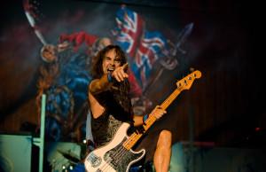 Philadelphia  'MAIDEN ENGLAND' tour 2012 Photo by JOHN McMURTRIE