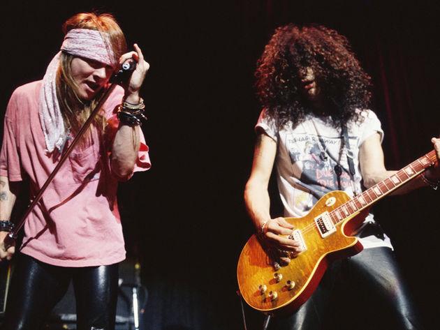 Axl Rose y Slash