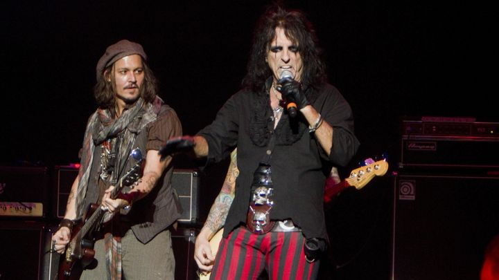 alice cooper and Jhnny
