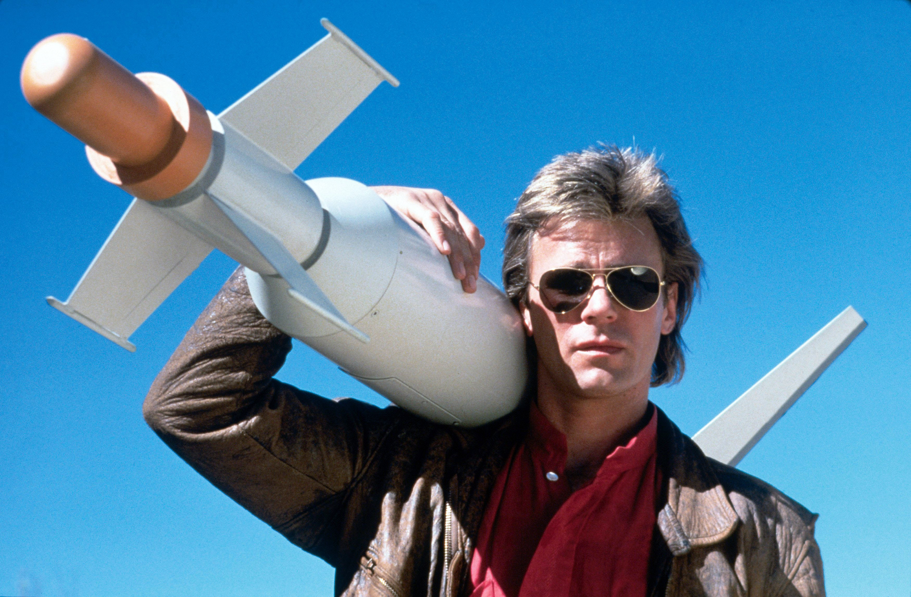 Richard Dean Anderson portrayed MacGyver with the perfect combination of cool and nerdy
