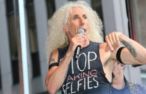 Twisted Sister performs on 'Fox & Friends' for their 'All-American Summer Concert Series'  Featuring: Twisted Sister,Dee Snider Where: New York City, New York, United States When: 25 Jul 2014 Credit: IZZY/WENN.com