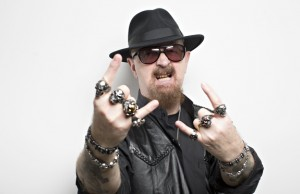 Judas Priest frontman Rob Halford.Photograph by Graeme Robertson