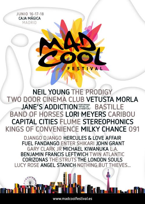 madcoolfestivalcartel