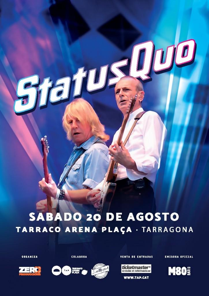 Status Quo POSTER-TARRAGONA-LR