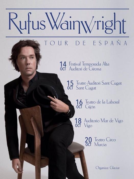 Rufus Wainwright Teatre Auditori Sant Cugat