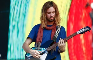 CHICAGO - AUG 01: Kevin Parker of Tame Impala performs at 2015 Lollapalooza  at Grant Park on August 1, 2015 in Chicago, Illinois  (Photo by Michael Hickey/Getty Images)