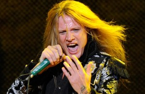 Singer Sebastian Bach performs at The Joint inside the Hard Rock Hotel & Casino December 30, 2011 in Las Vegas, Nevada.